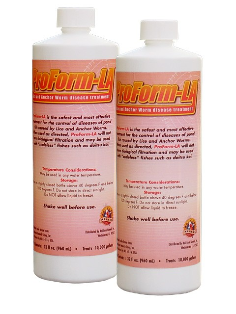 Proform la lice anchor worm treatment for Koi treatment